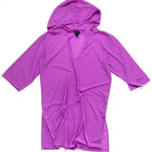 BEACH BY EXIST Women's Purple Tunic Beach Cover Up